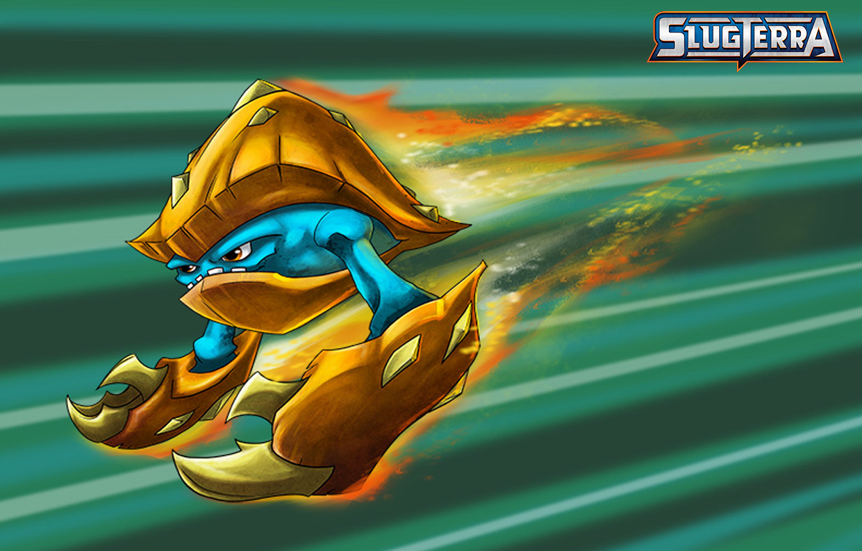 SlugTerra Armashelt Coloring Page and Wallpaper | SKGaleana
