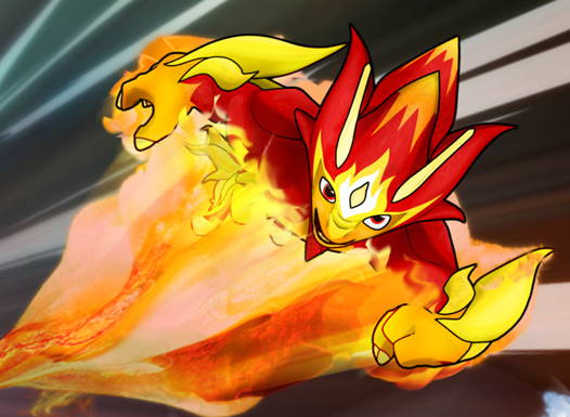 Fire Elemental transformation