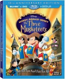 MickeyDonaldGoofyThreeMusketeersBluray