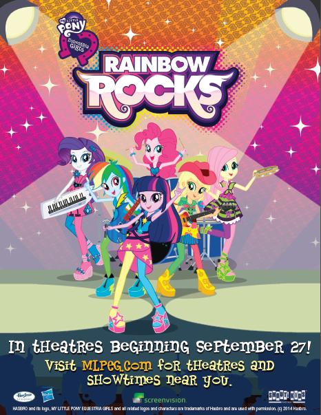 My Little Pony Equestria Girls Rainbow Rocks Feature Film