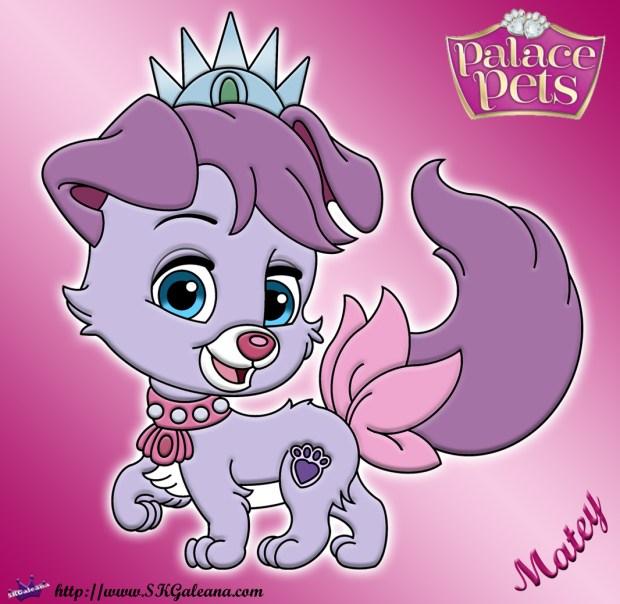 Disney princess palace pet coloring page of matey skgaleana for Princess pets coloring pages