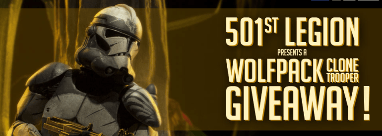 501st Legion Giveaway