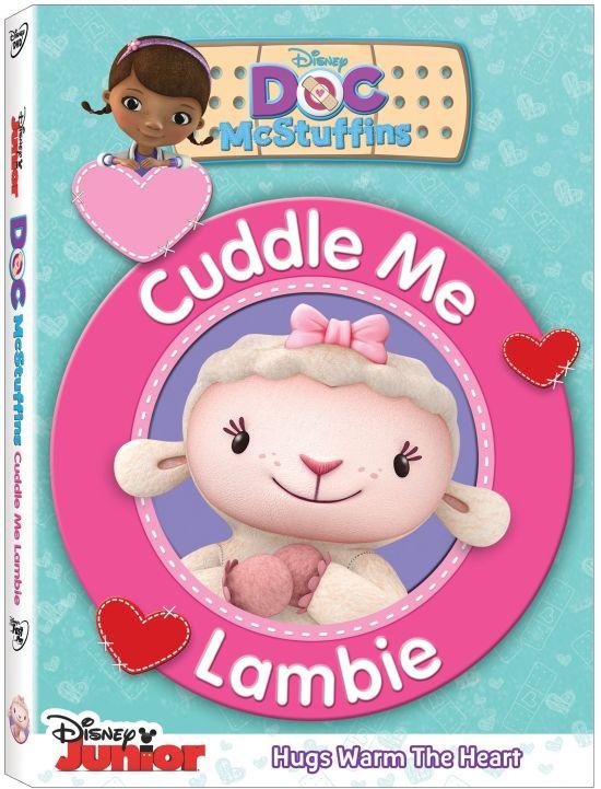 Disney Doc McStuffins Cuddle Me Lambie DVD
