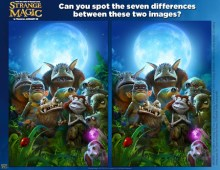 Starnge Magic Spot the Difference SKGaleana