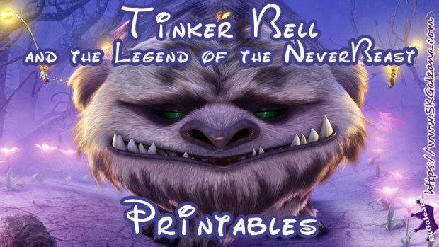 Tinker Bell Legend of the Never Beast Free Printables