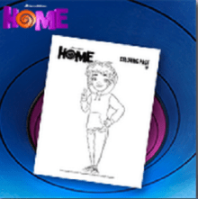 Dreamworks Home Free Printables And Activities