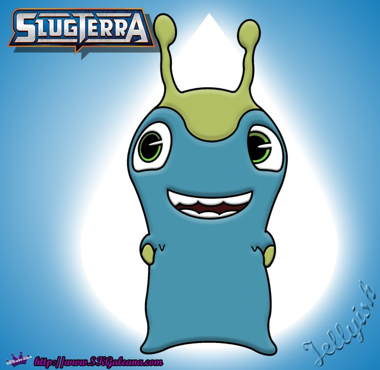Slugterra Jellyish coloring Page SKGaleana image