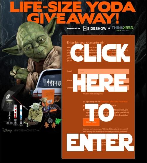 Yoda Giveaway SKgaleana