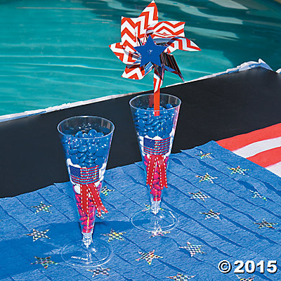 Patriotic Parfait Candy Cups Idea