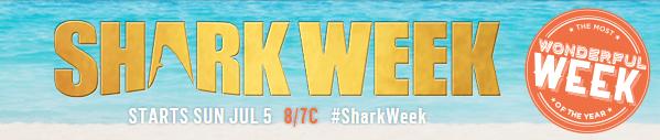 Shark Week Starts July 5