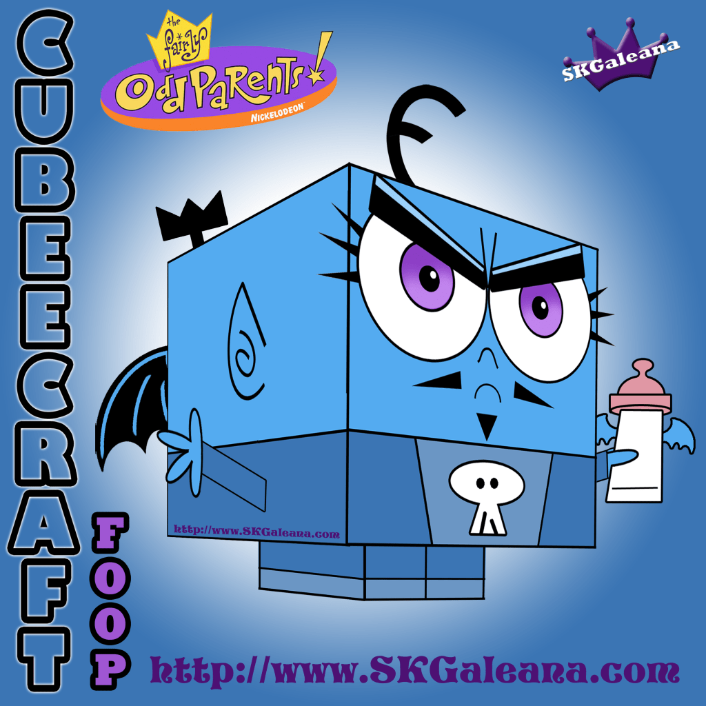 Free Cubeecraft Of Foop From Fairly Odd Parents Skgaleana