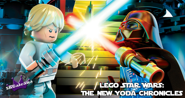 LEGO STAR WARS The New Yoda Chronicles on DVD