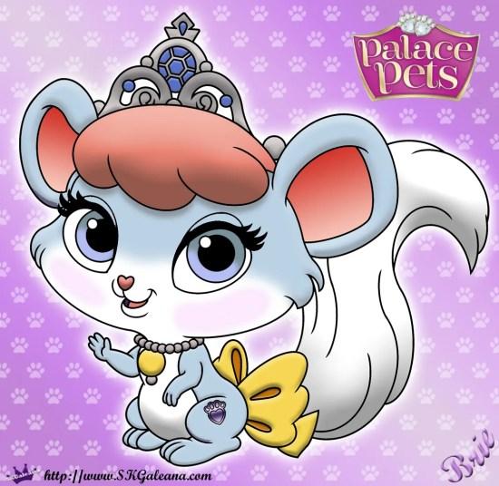Brie Princess Palace Pet Coloring Page SKGaleana image1