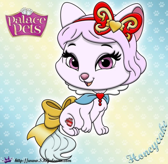 Honeycake Princess Palace Pet Coloring Page SKGaleana image
