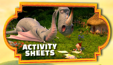 The Seventh Dwarf Activity pages
