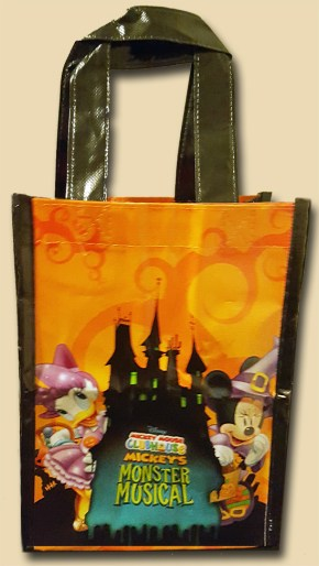 Monster Musical Tote Bag Back