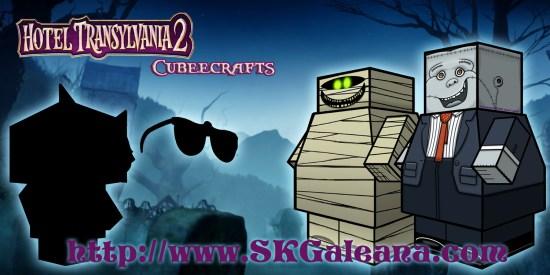 Hotel Transylvania 2 Cubeecraft poster9