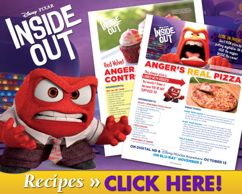 Inside Out Recipes for Halloween