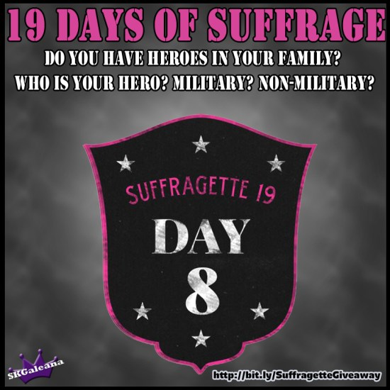 19 Days of Suffrage Day 8.1