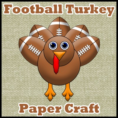 Football Turkey Paper craft by SKGaleana