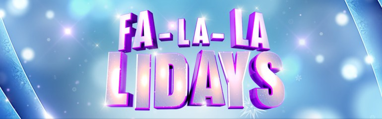 Fa-la-la lidays Disney Channel