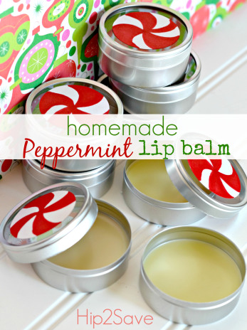Hip 2 save Homemade Peppermint Lip Balm
