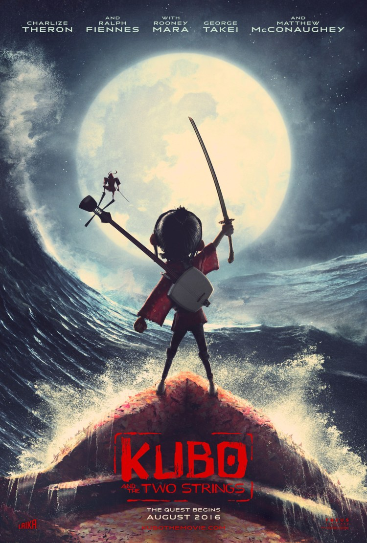 Kubo and the Two Strings poster