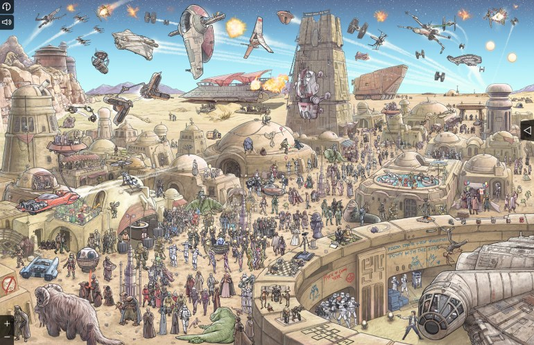 Star Wars The Epic Battles Tatooine