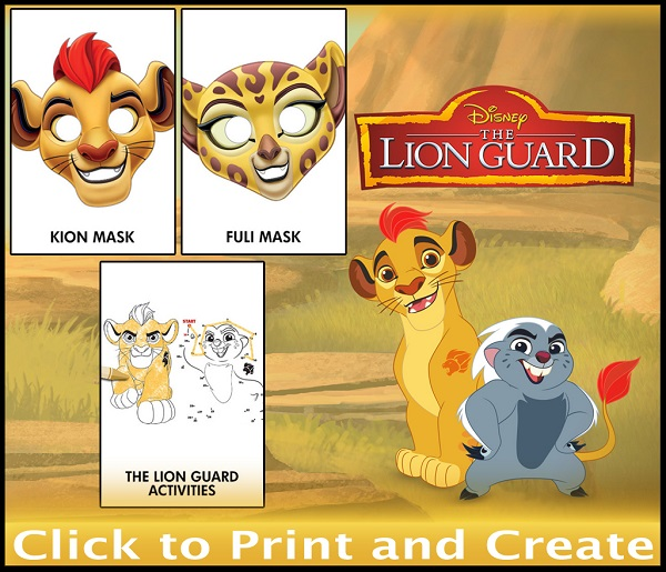 The Lion Guard Printable