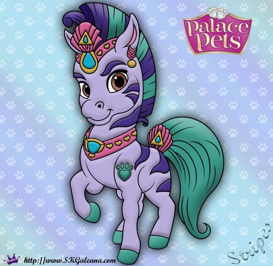 Stripes Princess Palace Pet SKGaleana image
