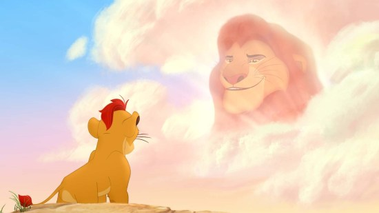 Kion and Mufasa