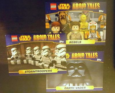 Lego Droid Tales Trading Cards