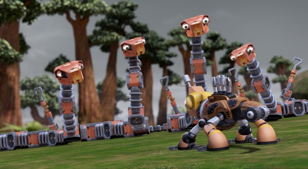 On a journey through the forbidden dark forest, the Dinotrux stumble upon some mischievous toa constrictors.