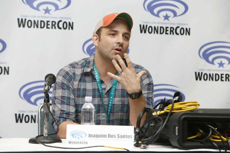 "Executive Producer Joaquim Dos Santos seen at DreamWorks Animation ""Voltron: Legendary Defender"" Wondercon Presentation at Los Angeles Convention Center on Friday, March 25, 2016, in Los Angeles, CA. (Photo by Eric Charbonneau/Invision for DWA/AP Images)"