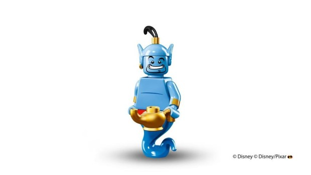 Genie Lego Minifigure from Disney's Aladdin
