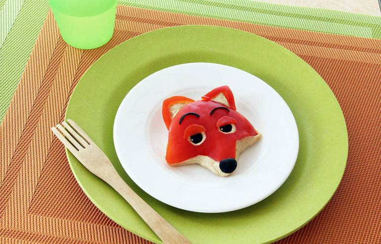 Nick Wilde Veggie-and-Hummus Snack