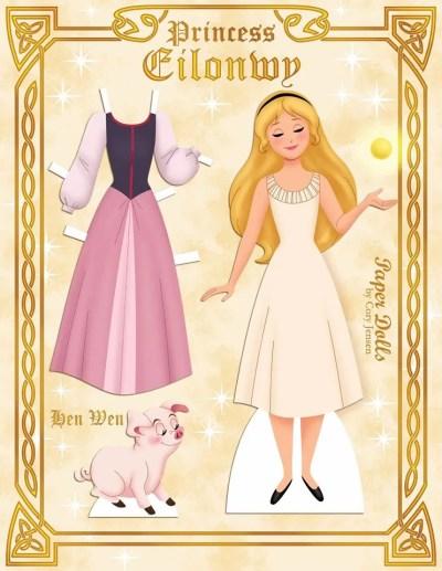Princess Eilonwy from Disney's The Black Cauldron
