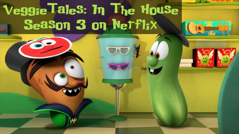 You can catch Motato and Larry in Season 3 of VeggieTales in the House, premiering on Netflix March 25.