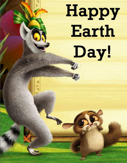 King Julien Earth Day