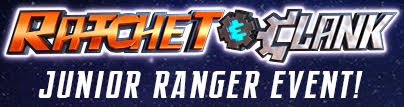 rachet and clank junior ranger event