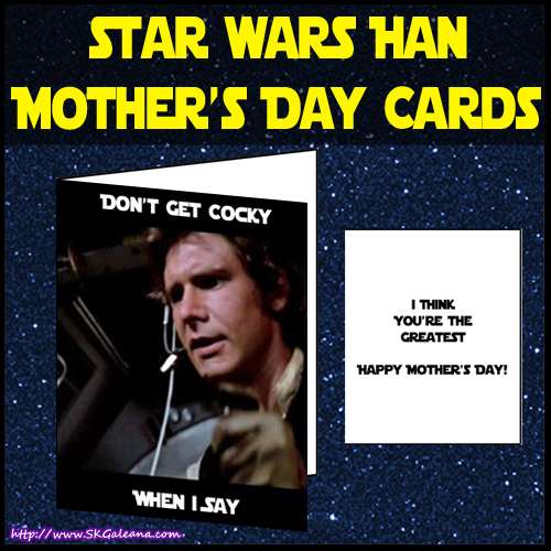 Don't get cocky Mothers day card by SKGaleana image