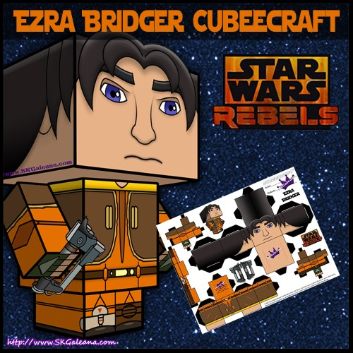 Ezra Bridger Cubeecraft Image