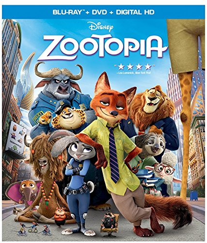 Zootopia Bluray dvd