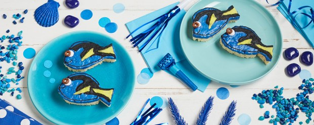 Disney Family Recipe Dory Treats for Kelloggs