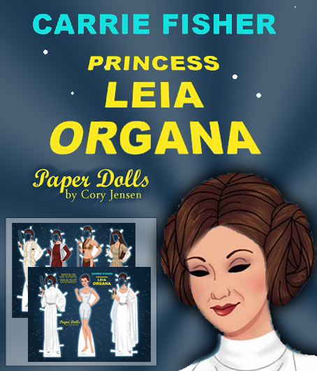 Princess Leia Paper Doll by Cory Image