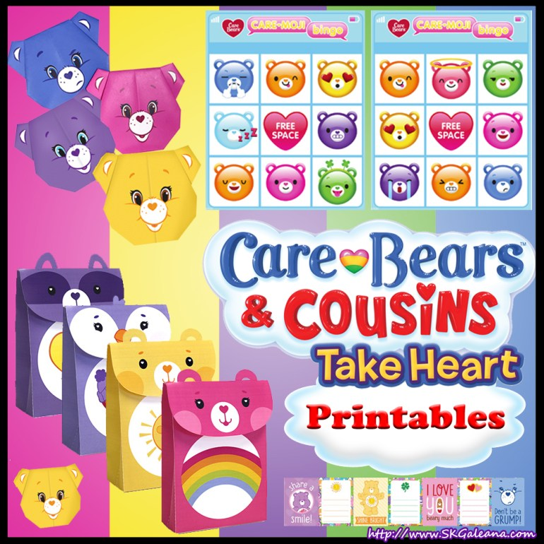 Care Bear and Cousins Printables
