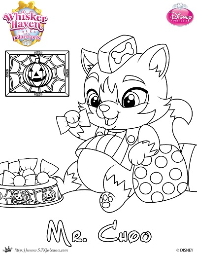 halloween pet coloring pages-#1