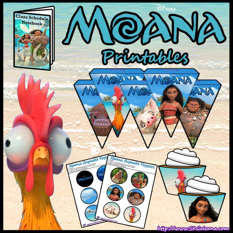 Stupendous image with moana printable