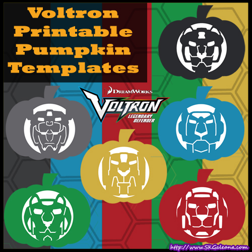 voltron-printable-pumpkin-templates