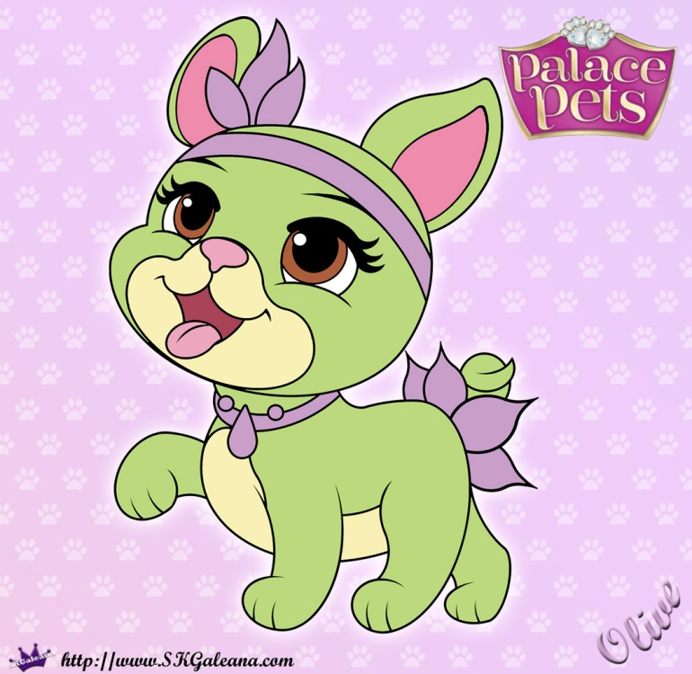 Tiana Has A New Palace Pet Olive Is An Adorable Puppy That Loves Helping In Tianas Restaurant When Visits Whisker Haven She Adds Little